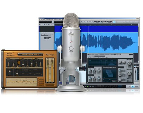 Blue Microphones Yeti Studio USB Microphone Bundle with iZotope Nectar and PreSonus StudioOne YETI-STUDIO-BUNDLE