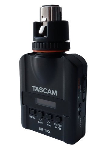Tascam DR-10X Compact Portable Recorder for Electronic News Gathering DR-10X