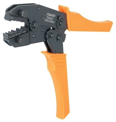 Paladin Tools PA1389  1300 HDTV Universal Crimp Tool with Die PA1389