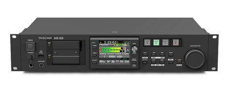 Tascam HS-20 2-Channel Network-Enabled Solid State Recorder HS-20