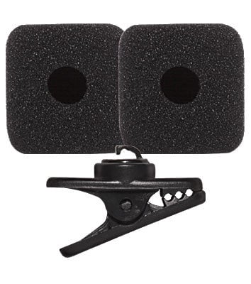 Shure RK377  Replacement Kit with Clip & 2 Windscreens for PGA31 Headset Microphone RK377