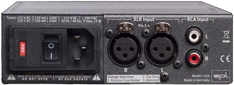 SPL Sound Performance Lab Phonitor mini 120V Headphone Amplifier PHONITOR-MINI