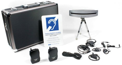 Williams Sound WIR SYS 75P PRO Infrared Jury Deliberation Room System Kit WIR-SYS-75P-PRO