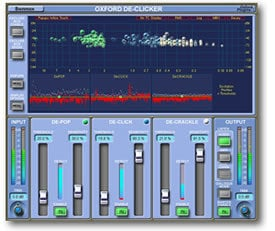 Sonnox Oxford DeClicker Click Removal Native Plugin OXFORD-DECLICKER-NAT