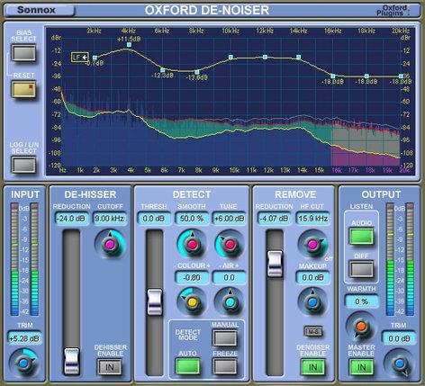 Sonnox Oxford DeNoiser Noise Removal Native Software OXFORD-DENOISER-NAT