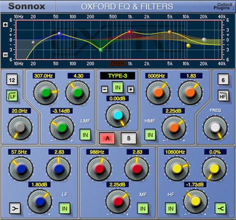 Sonnox Oxford EQ EQ HD-HDX Plugin OXFORD-EQ-HDHDX