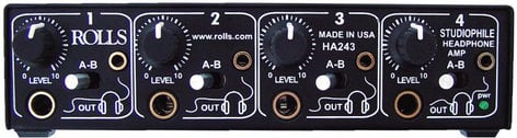 Rolls HA243  4-Channel Headphone Amplifier HA243