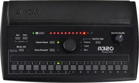 Aviom A320 16-Channel Personal Monitor Mixer A320