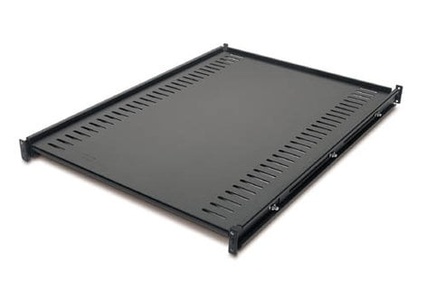 American Power Conversion AR8122BLK  Black Fixed Rack Shelf, 250 lbs Capacity AR8122BLK