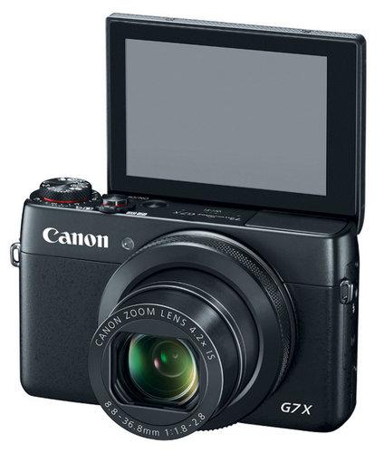 Canon POWERSHOT-G7-X PowerShot G Series Digital Camera in Black POWERSHOT-G7-X