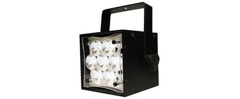 Rosco Laboratories Braq Cube WNC LED Spot/Profile White Light in Black with Power Cord BRAQ-CUBE-WNC-BLACK