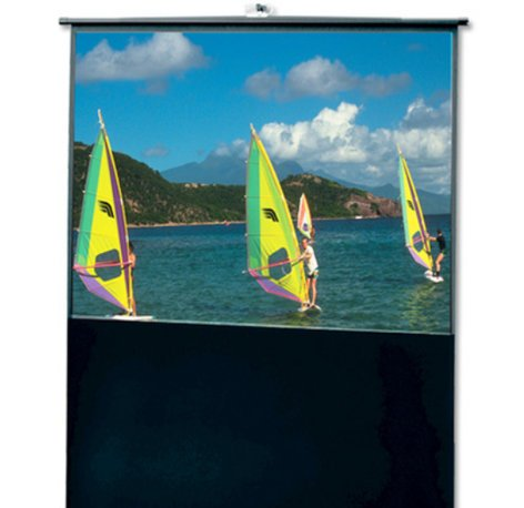 "Draper Shade and Screen 230139  94"" Traveller Portable Projection Screen with Matt White Surface 230139"