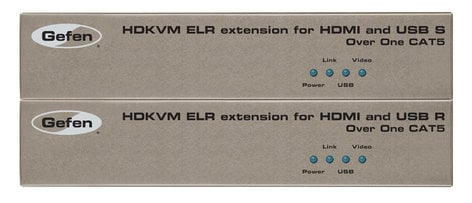 Gefen Inc EXT-HDKVM-ELR Extender for HDMI and USB over Single Cat-5 EXT-HDKVM-ELR
