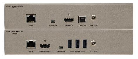 Gefen EXT-HDKVM-ELR Extender for HDMI and USB over Single Cat-5 EXT-HDKVM-ELR
