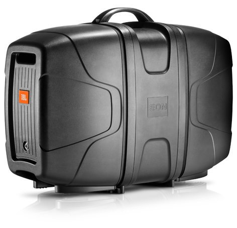 "JBL EON206P 6-Channel Portable PA System with (2) 6.5"" Speakers and Detachable Powered Mixer EON-206P"