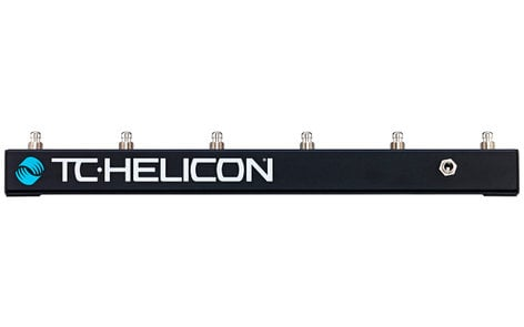 TC Helicon Switch 6 6-Footswitch Remote Control for Vocal/Guitar Multi-Effects SWITCH-6