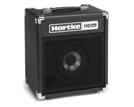 "Hartke HD25 25W 1x8"" Bass Combo Amplifier HD25-HARTKE"