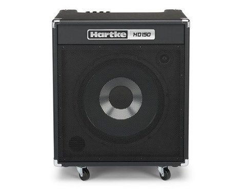 "Hartke HD150 150W 1x15"" Bass Combo Amplifier HD150-HARTKE"