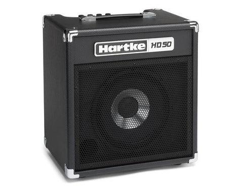 """Hartke HD50 50W 1x10"""" Bass Combo Amplifier HD50-HARTKE"""