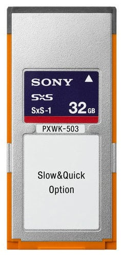 Sony PXWK-503 Slow and Quick XAVC Option Key for PXW-X500 PXWK-503