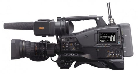 "Sony PXW-X500 XDCAM XAVC and HD422 2/3"" CCD Shoulder-mount Memory Camcorder (Camera Body Only) PXW-X500"