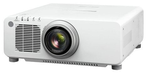 Panasonic PT-DW830UW 8500 Lumens WXGA DLP Large Venue Projector in White PTDW830UW