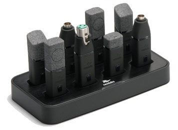 Revolabs 02-8BATHDCHG-C  8 Slot Charger Base Station for Executive HD Transmitters 02-8BATHDCHG-C