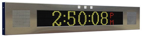 Advanced Network Devices IPSIGNL-RWB-IC  Large IP Signboard with Two Speakers and Red, White and Blue Flashers IPSIGNL-RWB-IC