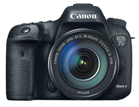 Canon EOS-7DMKII-18-135-KT Digital SLR Camera Kit with Standard Zoom Lens EOS-7DMKII-18-135-KT