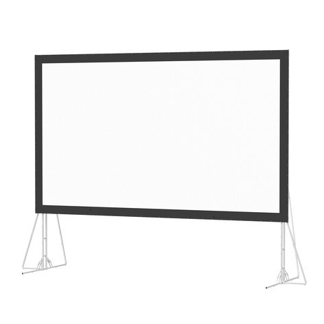 Da-Lite 99842  8-6X14-4 Fast-Fold Truss Frame Projection Screen in Da-Mat 99842