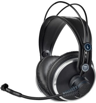 AKG HSC271  Professional Headset with Cardioid Condenser Microphone and 6-Pin Mini XLR-M Connector HSC271