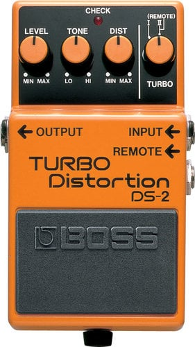 Boss DS-2 Turbo Distortion Pedal DS2-BOSS