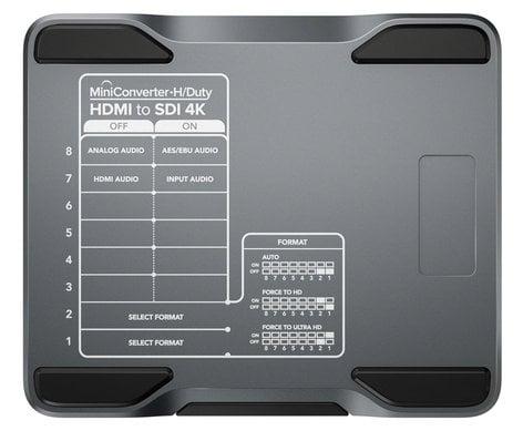 Blackmagic Design CONVMH/DUTYBHS4K Mini Converter Heavy Duty HDMI to SDI 4K CONVMH/DUTYBHS4K