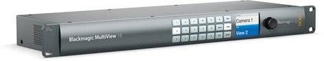 Blackmagic Design HDL-MULTIP6G/16 MultiView 16 Ultra HD 16 Source Monitor System HDL-MULTIP6G/16