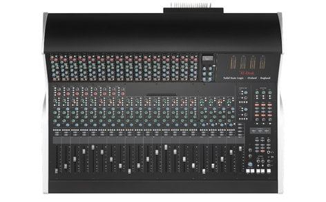 Solid State Logic XL-Desk SuperAnalogue 20-Channel Mixer with Onboard 18-Slot 500 Series Rack XL-DESK