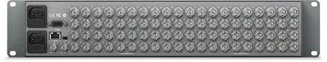 Blackmagic Design VHUBSMART6G4040 Smart Videohub 40 x 40 Multi Format SD HD and Ultra HD 6G-SDI Router VHUBSMART6G4040