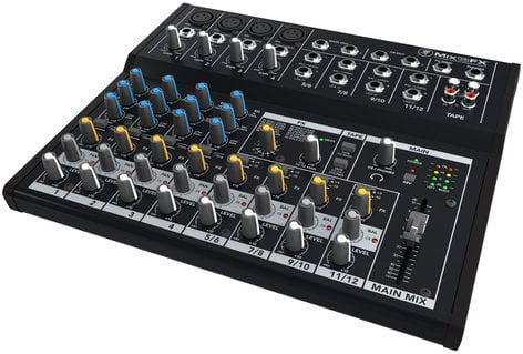 Mackie MIX12FX 12 Channel Compact Mixer with Effects MIX12FX