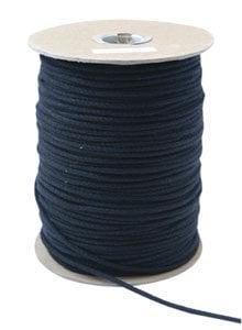 Rose Brand TIE-LINE-96 96 ft of Waxed Black Tie Line TIE-LINE-96