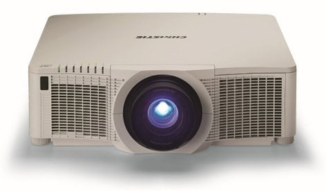 Christie Digital DHD951-Q 8,200 ANSI Lumens Single Chip DLP Dual Lamp Projector without Lens DHD951-Q
