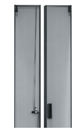 Middle Atlantic Products CLVRD-WMRK-45  45 Space Large Perforated Split Rear Door for CLVRD Series CLVRD-WMRK-45