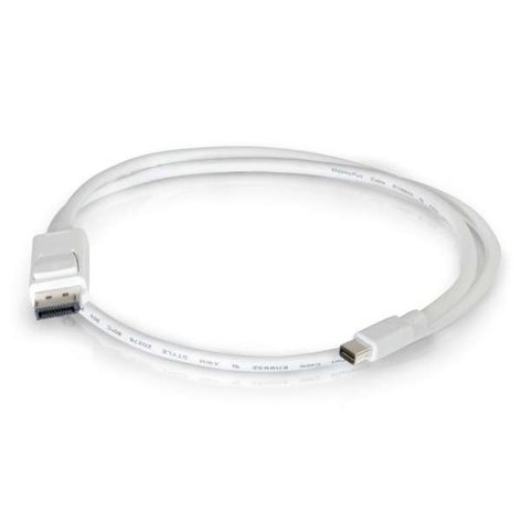 Cables To Go 54299  10 ft Mini DisplayPort Male to DisplayPort Cable 54299