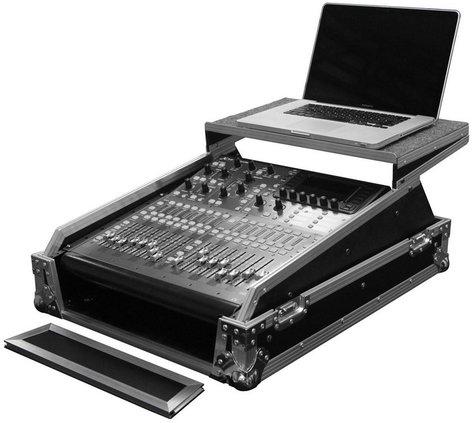 "Odyssey FZGSMX1913  Flight Zone Series 13RU 19"" Rackmount Mixer Glide Style Case FZGSMX1913"