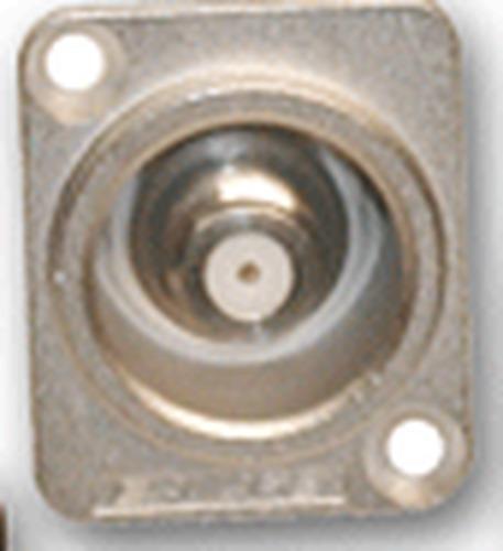 Canare FJ-JRUD F to F Connector Jack, nickel finish FJ-JRUD