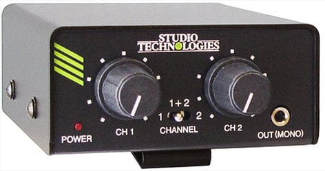 Studio Technologies MODEL-33A  Listen Only IFB Talent Amplifier Beltpack Unit MODEL-33A
