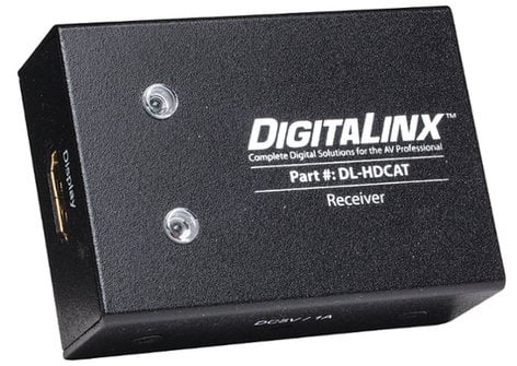 Intelix DL-HDCAT-R DigitaLinx Twin Category Cable HDMI 1.4 Receiver with Power Supply DL-HDCAT-R