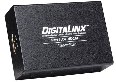 Intelix DL-HDCAT-S DigitaLinx Twin Category Cable HDMI 1.4 Transmitter DL-HDCAT-S