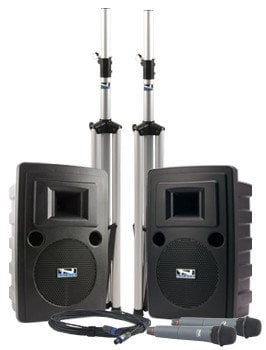 Anchor LIB-DPDUAL-CM60 Liberty DUAL Deluxe Package with 2 CM60 Collar Microphones LIB-DPDUAL-CM60