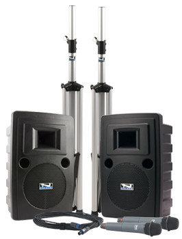 Anchor LIB-DPDUAL-EMTA4F Liberty DUAL Deluxe Package with 2 EM-TA4F UltraLite Microphones LIB-DPDUAL-EMTA4F