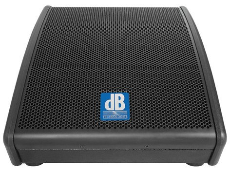 "DB Technologies FM-10 sys 200W 10"" 2-Way Powered Speaker Wedge FM-10"