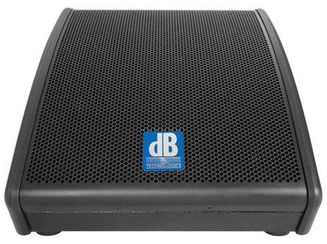 "DB Technologies Flexsys FM10 200W 10"" 2-Way Powered Speaker Wedge FM-10"